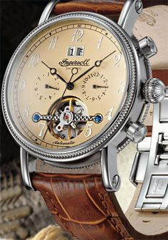 Ingersoll IN1800CR Richmond Automatic Silver (IN1800CR)