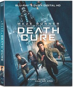 On Bluray and DVD, as well as 4K Ultra HD, this week from director Wes Ball and 20th Century Fox Home Entertainment is the race for life with MAZE RUNNER: The Death Cure.
