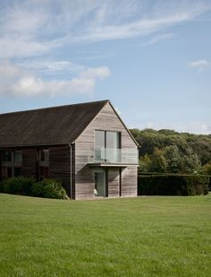A home in the heart of the Cotswold countryside Log Home Plans, Home Design Plans, House Plans, Barn Plans, Metal Building Homes, Building A House, Barn Conversion Exterior, Barn Conversions, Shed Homes