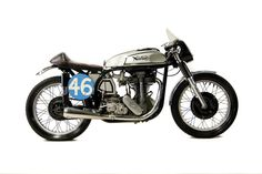Old School:  1953 Manx Norton 350CC