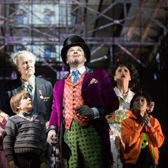 See Willy Wonka in the National Tour of Roald Dahl's Charlie and the Chocolate Factory - The New Musical! Get Charlie tour tickets today. Roald Dahl Characters, Childhood Characters, Charlie Chocolate Factory, Sam Mendes, Charles Spencer, Theatre Reviews, London Theatre, Journey, Movies