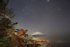Beautiful!  #autumn  Mt Fuji