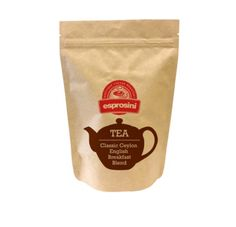 Time for a spot of morning tea? Friday's feature is all about our specialty tea. Esprosini's Classic Ceylon English Breakfast blend available now. A perfect brew to sip on with your favourite sweet treat @esprosini