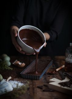 Chocolate Earl Grey Truffle Tart + Sea Salt & Olive Oil - Sophisticated desserts, grown up flavours. Bojon Gourmet, Chocolate Lovers, Food Styling, A Table, Sweet Tooth, Food Photography, Sweet Treats, Food And Drink, Dessert Recipes