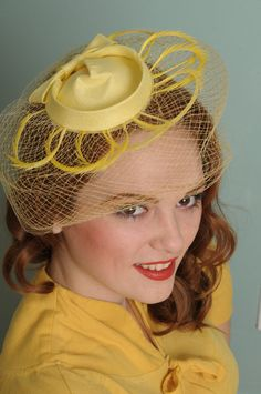 Vintage hat from Etsy