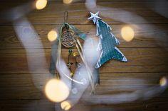Γούρι κρεμαστό δέντρο ζωής, πράσινο - χρυσό Lucky Charm, Charms