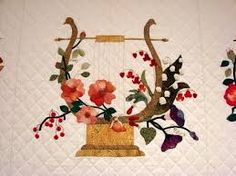 Image result for country rose and thistles baltimore album quilt block