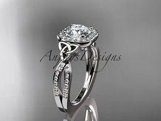 14kt-white-gold-diamond-celtic-trinity-knot-wedding-ring-engagement-ring-CT7393