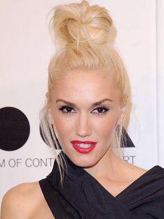 Gwen Stefani / hair bun
