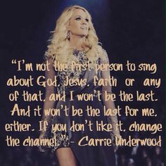 Carrie Underwood quote