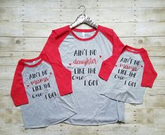 Mommy & Me Valentines Day Shirts Matching Valentines by MKNapparel