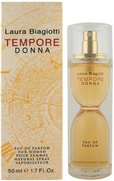 Laura Biagiotti Tempore Donna 0.17oz EDP Splash Mini by Tempore Donna. $7.99. New In Box. Miniature Collectible. Item may not match picture above, see description below.. Laura Biagiotti Tempore Donna 0.17oz EDP Splash Mini. Save 60%!