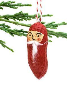DIY...  several peanut ornament ideas