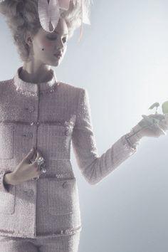 """""""Haute Style"""" by Karl Lagerfeld  Harper's Bazaar, April 2014."""