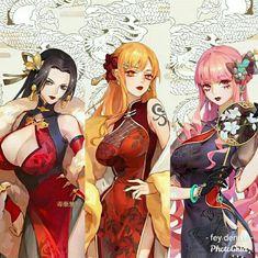 One Piece Ship, One Piece Luffy, One Piece Anime, Anime Girl Hot, Kawaii Anime Girl, Character Design Girl, Character Art, Air Gear Anime, Samurai Clothing