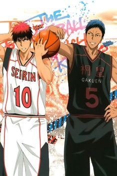 Kuroko No Basket Taiga Daiki Anime Poster