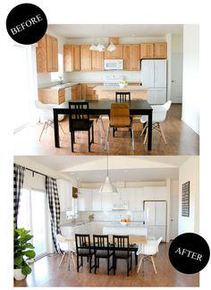 Kitchen Renovation Reveal // www.deliacreates.com