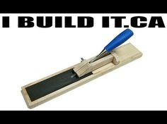 How To Make A Chisel Sharpening Jig