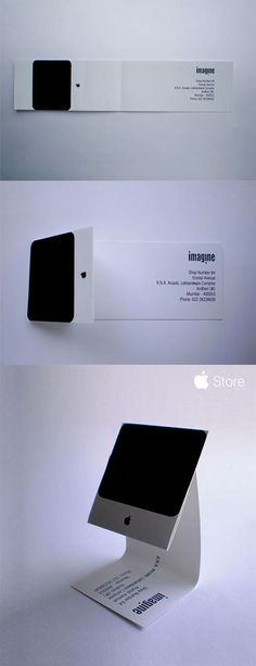 Imagine Le Imac Business Card Good Design