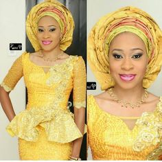 Aso Ebi Styles : Lace Combinations http://www.dezangozone.com/2016/07/aso-ebi-styles-lace-combinations.html
