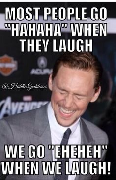*Guilty* once in a while i do it and i change my laugh right away cause im like nope nope nope thats toms thing XDDD