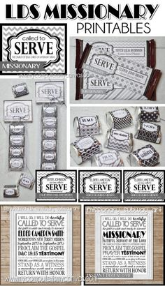 Lots of great LDS Missionary Printables. Nugget Wrappers, Hershey Bar Wrapper, Subway Art - some can be personalized! Perfect for Farewells, Homecomings and Open Houses. Elder or Sister Missionary Homecoming, Missionary Gifts, Sister Missionaries, Missionary Pictures, Mission Farewell, Missionary Care Packages, Welcome Home Parties, Farewell Gifts, Lds Church