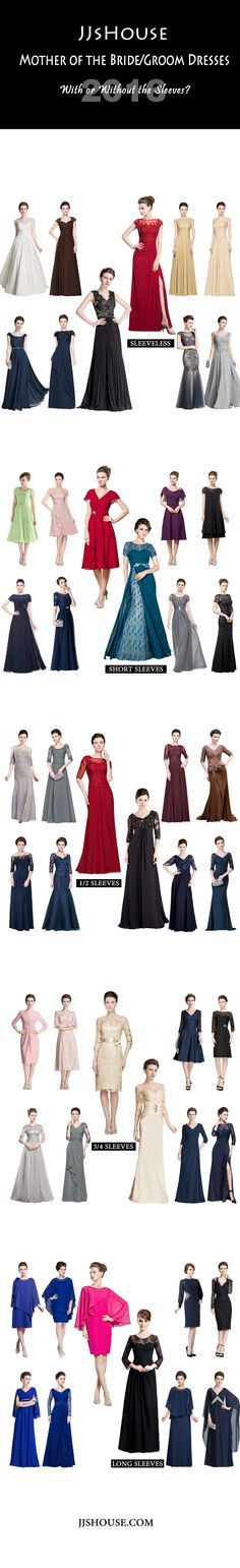 JJsHouse Mother of the Bride/Groom Dresses. With or without the sleeves? #JJsHouse