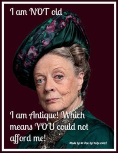 Maggie Smith in Downton Abbey. I love Maggie Smith. She is hilarious in Downton. I don't think I have ever seen a movie she was in that I did not like. A class act! Maggie Smith, Liz Smith, Watch Downton Abbey, Lady Violet, Dowager Countess, Photo Portrait, Photo Art, Aging Gracefully, Old Women