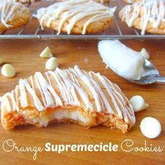 Orange Supremecicle Cookies @Maria Canavello Mrasek Xipolita καλή επιτυχια στον νινο στο 100φορες και στο βίντεο κλιπ και χρόνια πολλά για την γιορτή μου