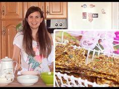 Crackers de semillas (con deshidratadora) - receta vegana, como todas - YouTube