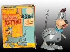 Marx Tin Wind-Up Jetsons Hopping Astro Toy