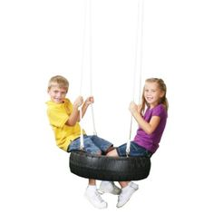 Swing-N-Slide Classic Tire Swing, Black