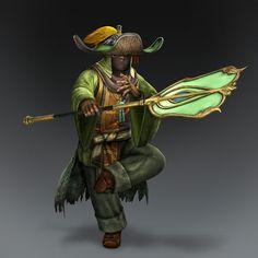 Pang Tong & Weapon (Shu Forces)