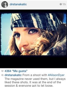 Alison Dyer session