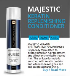 KERATIN REPLENISHING CONDITIONER  http://majestickeratin.com