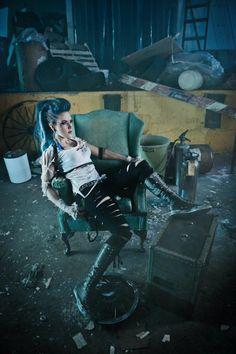 Alissa White-Gluz (The Agonist vocals)