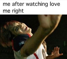 Haha was I the only one who saw an uber happy Jongin at this moment of the vid? #kai #exo #lovemeright
