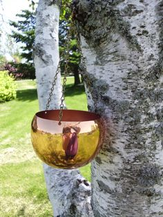 Hanging Witches Copper Cauldron