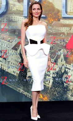 Angelina Jolie Ralph And Russo Dress World War Z Berlin Premiere