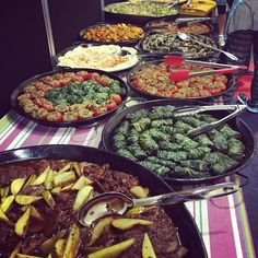 Middle Eastern feast - yummy exhibitor food at the Retirement Living Expo. #healthywealthywise #fremantle #food #yummy