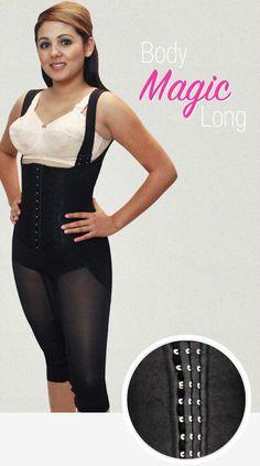 Ardyss Body Magic Long Leg Firm Compression OPEN CROTCH  BLACK  Size 26