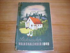 Sächsischer Volkskalender 1949 112 Seiten für den Heimatsammler DDR ab 1 Euro