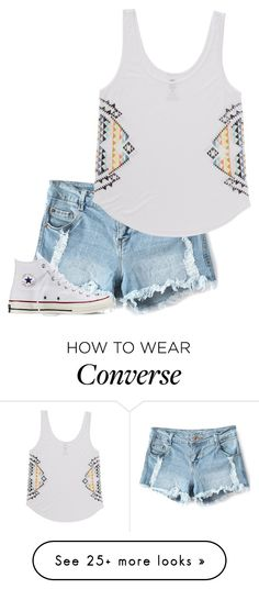 """<~Sunny~>"" by vlhuerta on Polyvore featuring Billabong and Converse"