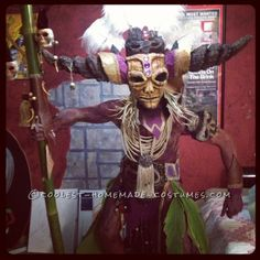 Coolest Homemade Witch Doctor Costume ...This website is the Pinterest of birthday cakes