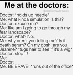 The Life of a Fangirl, Basically - #50 At the Doctor's #wattpad #random