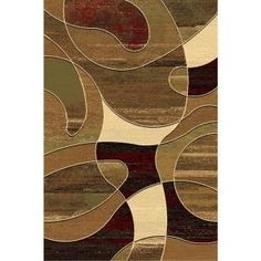 Radici Area Rugs Vesuvio 1676 Red The Contemporary From Maroon Tan Beige Brown Black White Circles Modern Olive
