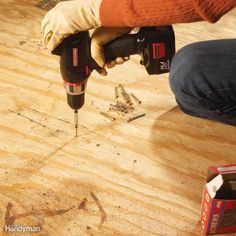 Home improvement ideas, home repair guides and home maintenance tips from The Family Handyman ma. Do It Yourself Magazine, Do It Yourself Home, Family Handyman Magazine, Squeaky Floors, Clean Dryer Vent, Sump Pump, Toilet Cleaning, Home Repair, Home Improvement Projects