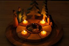 Winter ~ Advent ~ Fourth Week ~ The fourth light of advent is the light of humankind - The light of hope that we may learn to love and understand.