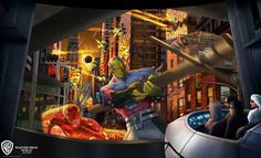 Warner Bros. World Abu Dhabi unveils rides staring Superman, Scooby-Doo, and other cartoon heroes