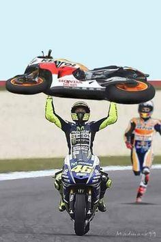 Hey Marc I've got your bike amigo